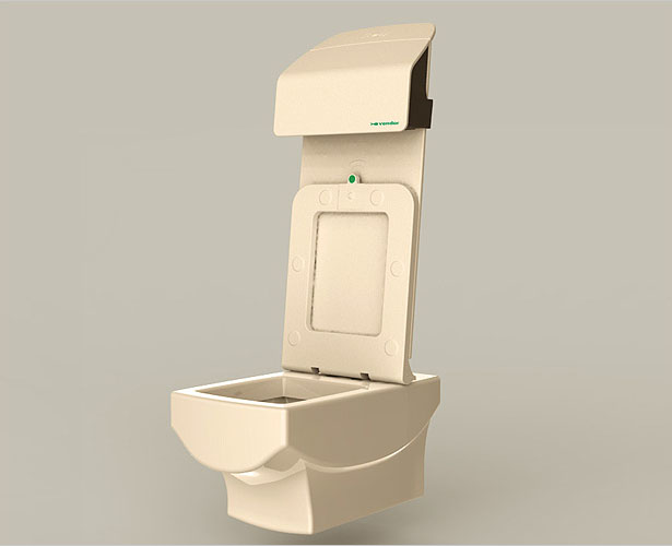 CSM Automatic Toilet System by Bluelarix