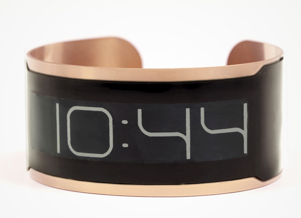 CST-01 Watch : Flexible Ultra Thin Watch with E-Ink Displays
