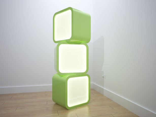 Cube Lights by Thomas Young