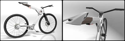 Cube Urban folding urban concept bike from cube bikes - tuvie