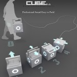 Cube 2.1 Wireless Speakers by Joao Carneiro