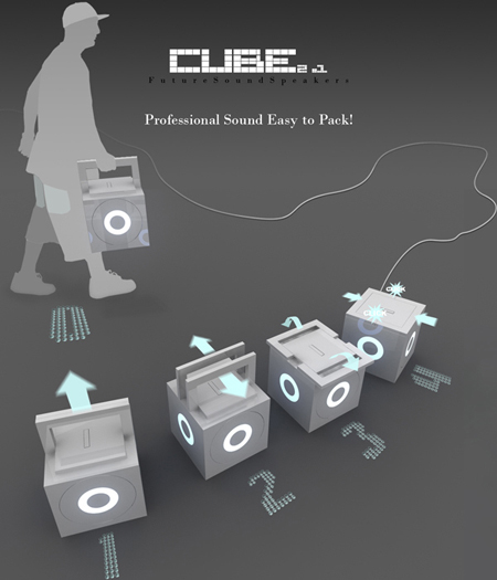 cube future sound speakers