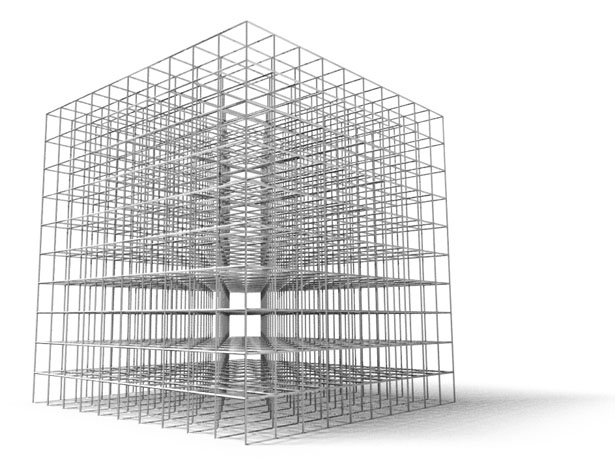 Cubed Maze3 by Phil Pauley
