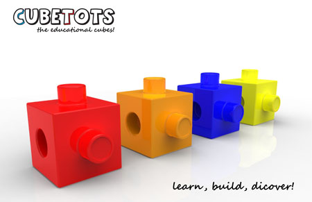 CubeTots : Educational Cubes Game for Children