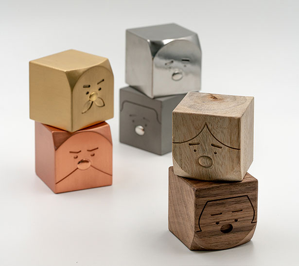 Cubio Family - Aromatic Cubes by Napp Studio & Architects