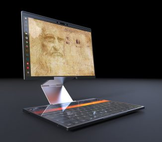Cubitus Laptop Concept Features Height Adjustable Screen to Provide Real Comfort of The User