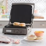 Cuisinart GR-150 Reversible Grill (Pan and Griddle) Allows Up to Six Ways to Cook Your Meal