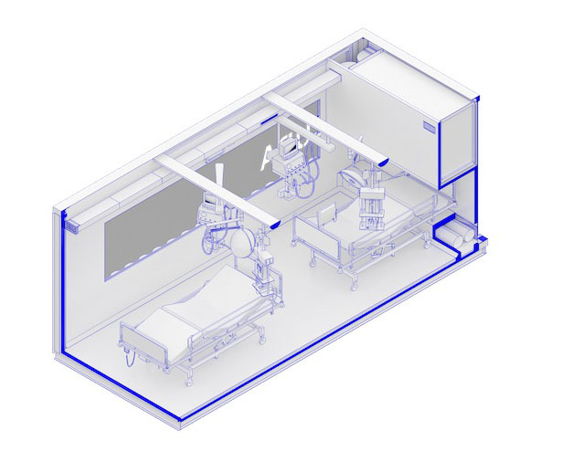 CURA Offers Open-Source Design for Emergency COVID-19 Hospitals