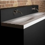 Follo Curvy Washbasin by WMD London
