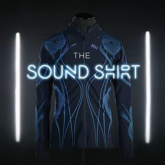 The Sound Shirt by CuteCircuit Allows Hearing Impaired People to Feel Music