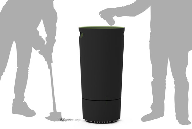 CUUM Electric Wastebasket
