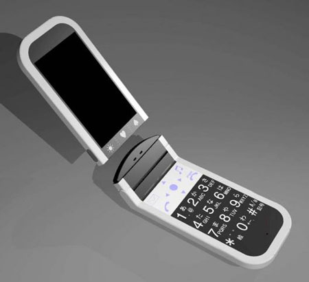 Cuusoo Detachable LCD Screen Cell Phone Concept