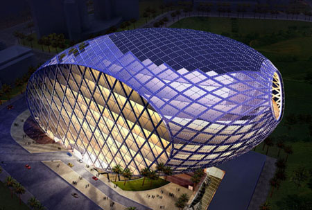 cybertecture egg for mumbai