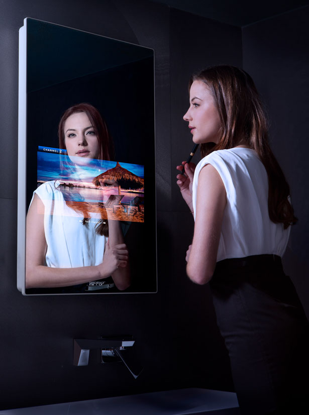 Cybertecture Mirror by James Law Cybertecture