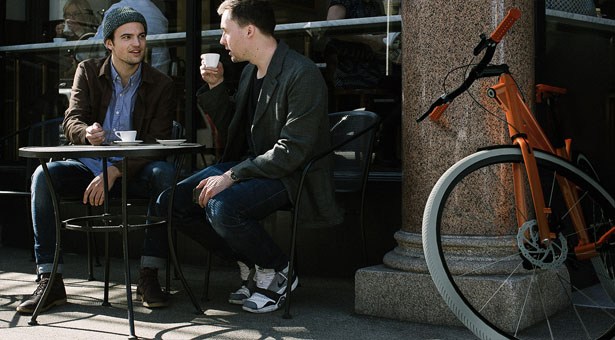 Minimalist and Modern Cyclo Urban Bicycle Offers Speed and Comfort
