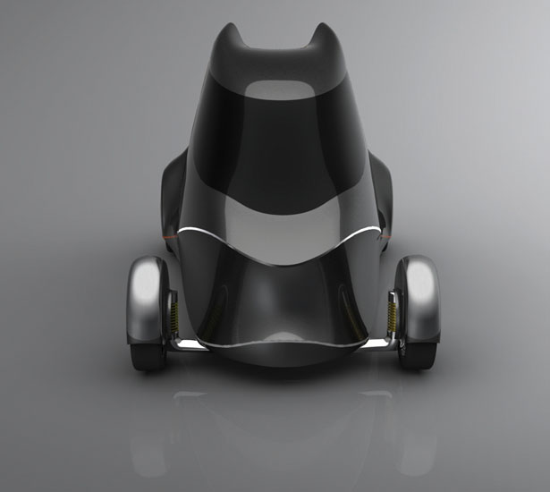 Cygo Electric Car concept by Daniel Rauch