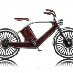 Cykno Electric Bike Is Upholstered With Fine Leather
