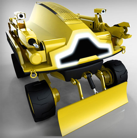 Cynomy Demolition Vehicle Features Remote Controlled Interface for Safe and Convenient Operation
