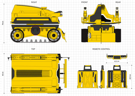 cynomy demolition vehicle