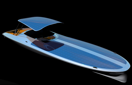 czeers mk1 solar-powered boat concept