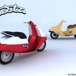 CZta Scooter Design Is Inspired by Cezeta 501 Scooter from 1957