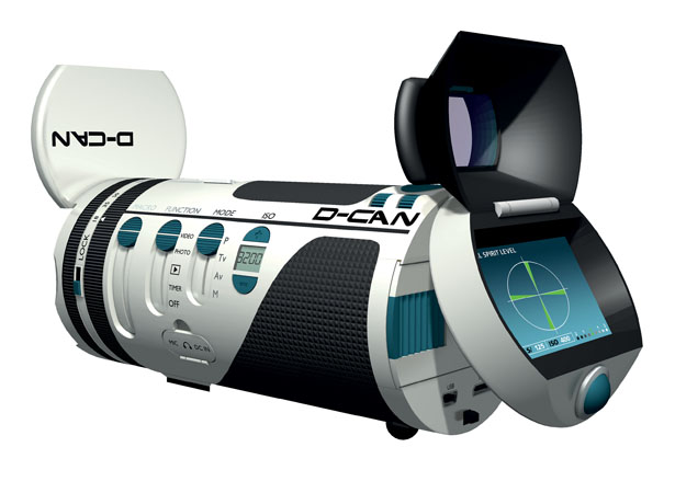 D-CAN Digital Camera by Jean-Michel Bonnemoy