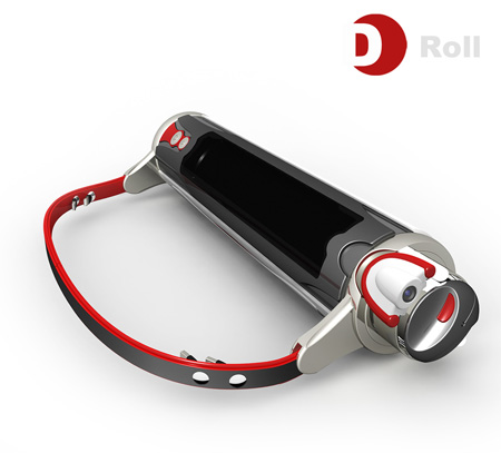 d-roll laptop concept