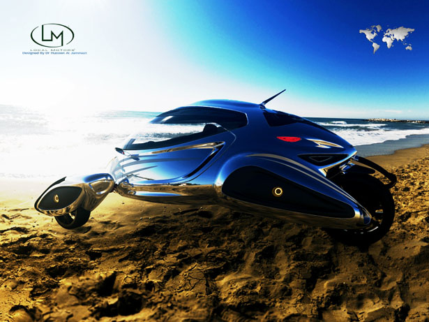 Inspired By Wasp, Daboor Jet Ski Design by Hussien Al Jammazi