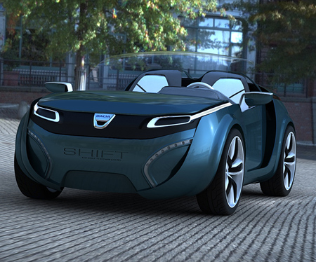 Luxury  Accident on New Luxury Cars Dacia Shift Concept