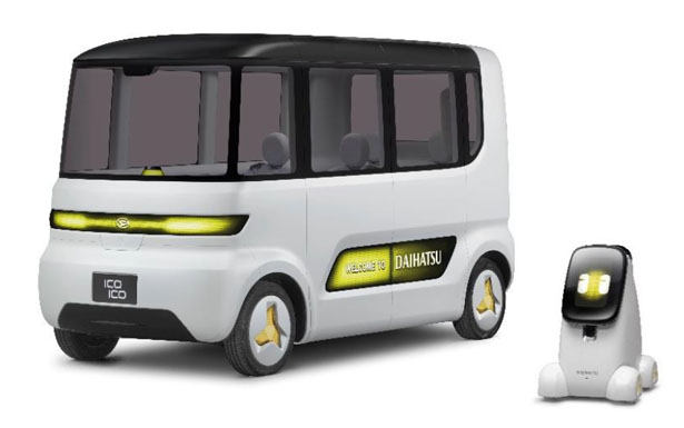 Daihatsu IcoIco and Nipote Concept Public Transportation