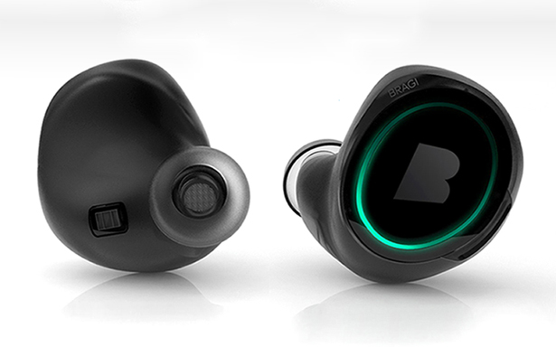 dash wireless smart in ear headphones with touch screen surface tuvie. Black Bedroom Furniture Sets. Home Design Ideas