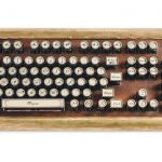 Datamancer Sojourner Keyboard with Beautiful Aged Brass Construction