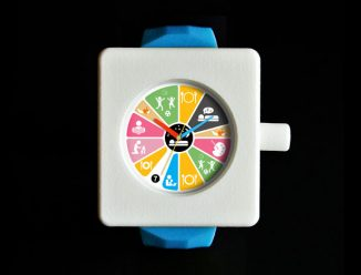 Daycare-at-Home Watch Concept Displays Visual Activities Instead of Numbers