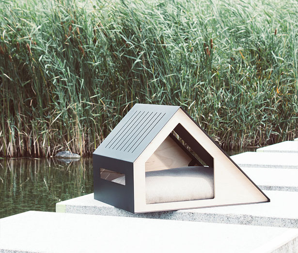 Deauville Dog House by Bad Marlon Design Studio