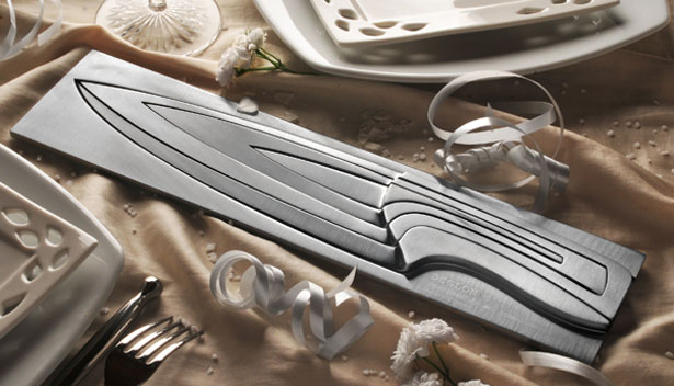 Deglon Meeting Kitchen Knife Set by Mia Schmallenbach