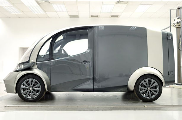DELIVER : Electric Delivery Vehicle by Libery Electric Cars