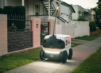 Future Delivery Droid Concept for Marathon Targets Has Been Tested by Australia Post