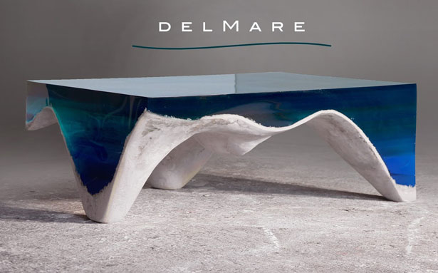 delMare Table by Eduard Locota
