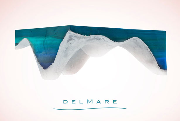 delMare Table : A Piece of Art That Takes You Into The Depth of The Sea