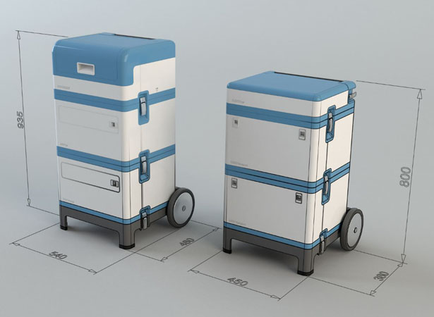 DENTASSIST : Modular Mobile Dental Unit For People With No Access to Dental Care