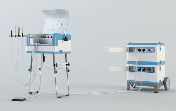 DENTASSIST Mobile Dental Unit by Philipp Kupfer & Markus Schönecker