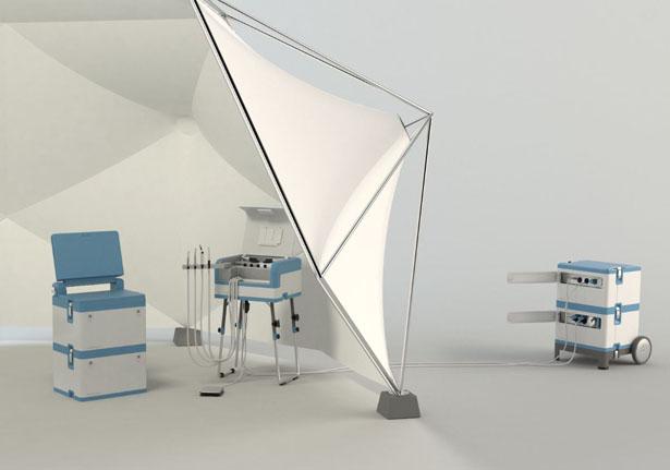DENTASSIST Mobile Dental Unit by Philipp Kupfer & Markus Schönecker