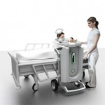 Dentris, A Mobile Dental Treatment Cart Concept by Clemens Auer
