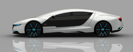 Audi A9 Concept Starts The Competition In The New Created