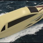 Design of a Futuristic Modern Vintage Yacht by Vidyanand S. Desai
