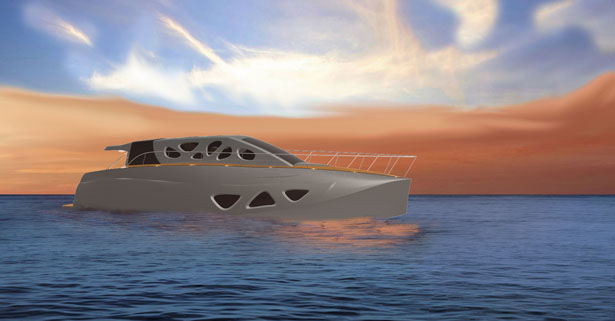 Design of a Futuristic Yacht for Elite Class in India by Vidyanand S. Desai