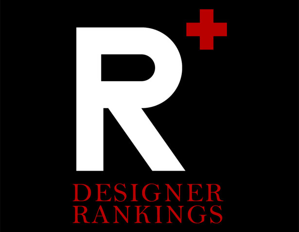 Designer Rankings 2013