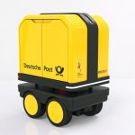 DHL Deutsche Post Launched PostBOT - A Self-Propelled Electric Robot