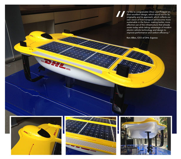 DHL Water Strider by Oliver Lehtonen and Philippe Hohlfeld