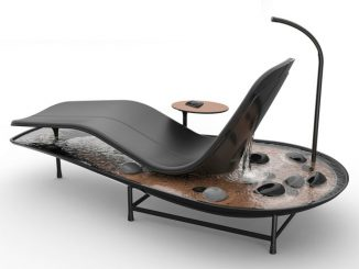 """Dhyan Chaise Lounge Creates """"Zen"""" Environment in Your Home"""